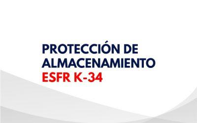 Protección de almacenamiento ESFR - K 34